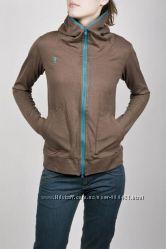 олимпийка Incident коричневая с капюшоном распродажа