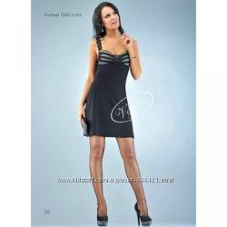 Романтический трикотажный сарафан-платье в черном цвете
