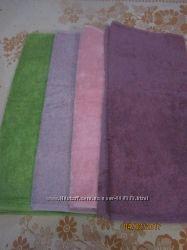 Махровое полотенце гладкокрашеное