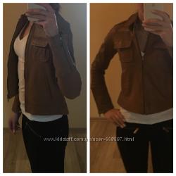 Куртка кожаная NafNaf