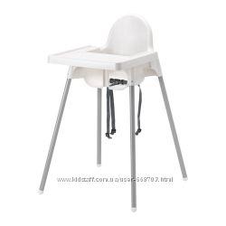 Стульчик для кормления со столешницей ANTILOP IKEA