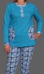 Домашняя хлопковая пижамка