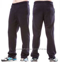 Теплые мужские спортивные штаны на флисе зимние