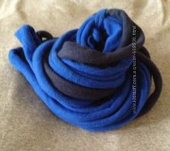 Стильный, оригинальный женский шарф. Ручная работа