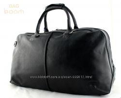 Дорожная, спортивная кожаная сумка LUXON
