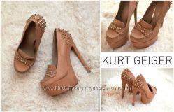 Крутые кожаные туфли