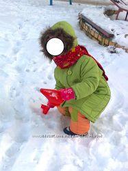 Зимнее пальто на девочку 3-х лет