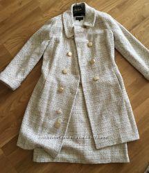 Пальто и платье Luisa Spagnoli
