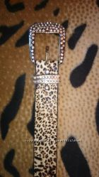 Красивый леопардовый ремень