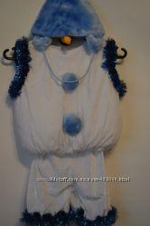 Костюм снеговичка - прокат. Медвежонок, зайчик, паучок, гном и другие