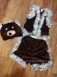 Новый Белый медведь новогодний костюм