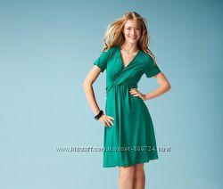 Изумрудное платье из вискозы р. 4244 от ТСМ Tchibo Германия