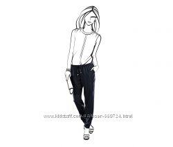 Брюки, штаны свободного стиля р. 46 от ТСМ Tchibo Германия