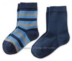 Полосатые носочки из орган. хлопка, 39-42 от TCM Tchibo Германия