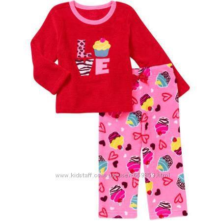 Новая теплая плюшевая пижамка  из США Оригинал Наличие