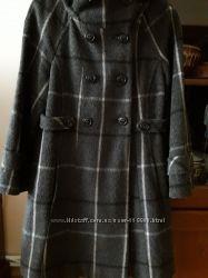 Пальто в клітину Zara