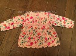 Очаровательная блузочка M&S на вашу принцессу 3-6 мес