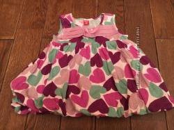 Платье малышке 3-6 мес Gloria Jeans