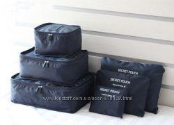 Набор дорожных органайзеров для одежды Monopoly Travel Biotech 6 предметов
