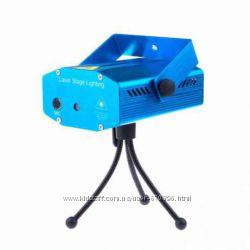 Светомузыка Лазерный проектор Mini laser YX-09 YX-08 для детских праздников