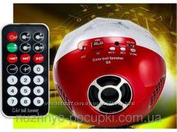 Портативная колонка-mp3 плеер  Bluetooth Color Ball Speaker Q8