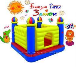 Детский надувной батут Intex 48259 Замок 175х175х135 см