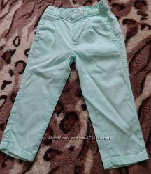 Летние бирюзовые штанишки.