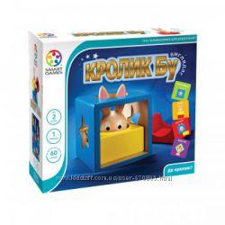Кролик Бу и другие деревянные логические игры Smart Games для малышей