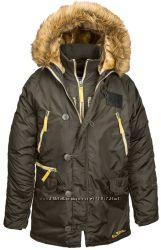 Куртка аляска N-3B Inclement Alpha Industries, США