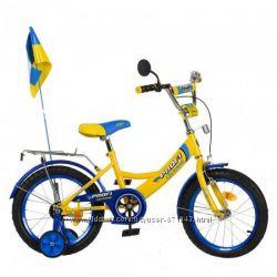 Детский двухколенсый велосипед Профи Ukraine на 14, 16, 18, 20 дюймов Акция