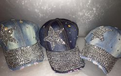 Джинсовые кепки