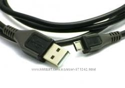 MICRO USB кабель для NOKIA, SAMSUNG, HTC, LG и др