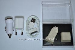 3 в 1 СЗУ АЗУ USB кабель IPHONE, IPOD