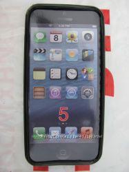 Силиконовая накладка IPHONE 5 ЧЕРНЫЙ