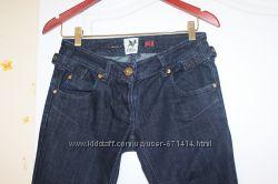 Темно-синие джинсы скини River Island 8 Как новые