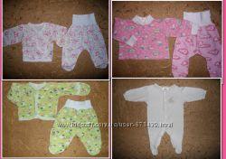 Одежда для новорожденного-костюмчики, человечек, ползунки, шапочки