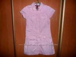 Летнее платье H&M на девочку 6-7лет 122р-р