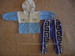 Теплый комплект на 3-6мес. -кофта и ползунки штаны