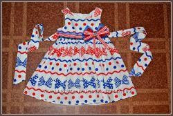 Фирменная платья  для девочек  ч1
