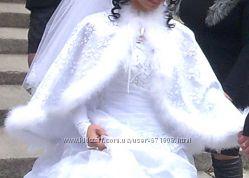 продам накидку на свадебное платье
