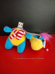Флешка мягкая игрушка дракончик 8ГБ