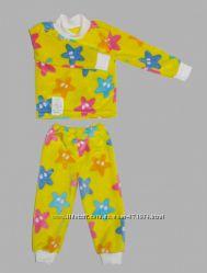 Пижама велсофт тепленькие для мальчиков и девочек