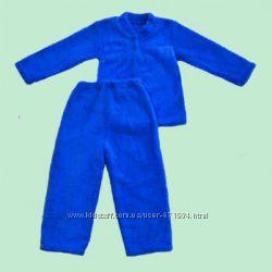 Пижама на пуговицах махра, начес