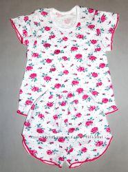 Новые Качественные легкие пижамки для девочек 92-116
