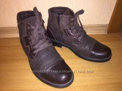 Большой выбор обуви - Зимние ботинки натур кожа 41 размер стопа 26, 5-27 см