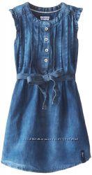 Levi&acutes джинсовые деним платья туника сарафан для девочек 110 166 122