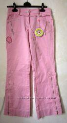 Новые розовые джинсы на девочку To Be Too