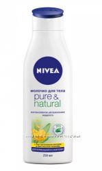 Молочко для тела Nivea Pure & Natural