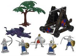 Рыцари и дракон Kingdom of Knights набор с магнитами Королевство Рыцарей
