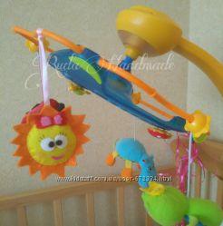 Игрушка из фетра. Солнце. Игрушки на мобиль. На коляску. Для детской комнат